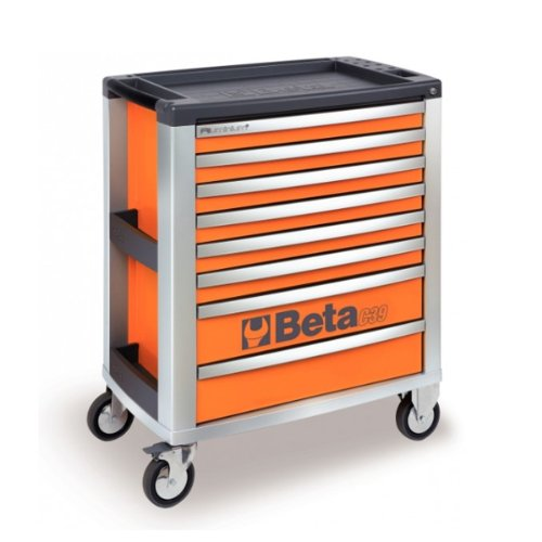 Beta C39 O/8 Mobile Cab mit 8-drawers – Orange