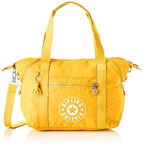 Bolsos Kipling amarillo grande