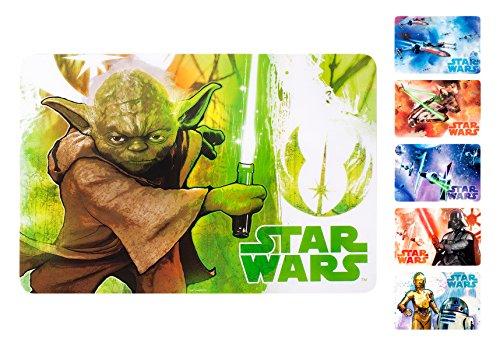 Home Star Wars  Verpackung Tischsets, Plastik, vielfarbig, 6 (Wars Home Star)