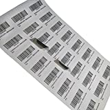 #5: The Marketvilla 24-up Round Cut 40 Sheets ( 960 stickers ) FBA Products Labels A4 Size 3by8 Label For Fulfillment Services Seller