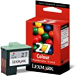 Lexmark 10N0227 colour ink cartridge 27