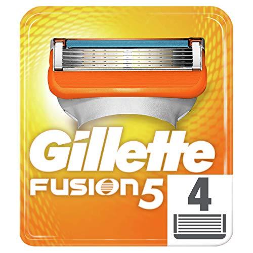 Gillette Fusion Manual Cuchillas-Pack de 4