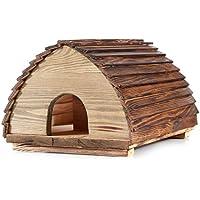 Berk - Caseta de erizos de Madera Maciza, construcción de erizos, estación de alimentación