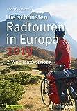 Radwandern Europa Wochenkalender 2019 - Wandkalender, Naturkalender - 23,7 x 34 cm