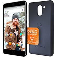 Wileyfox Swift 2 Plus Midnight - 32GB + 3GB 4G SIM-Free Smartphone with Screen Replacement Card and a premium Midnight Blue Case