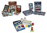 Spiele-Set mit QWIXX Würfelspiel, sowie den Kartenspielen THE GAME und THE GAME EXTREME als Spiele-Vorteilspack