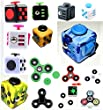 Fidget Toy Cube/Spinner Relieves Stress and Anxiety for Children and Adults