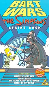 The Simpsons: Bart Wars [VHS]