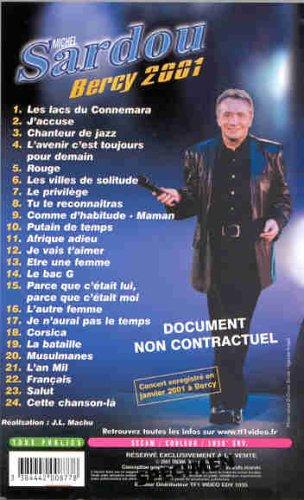 Sardou : Bercy 2001 [VHS]