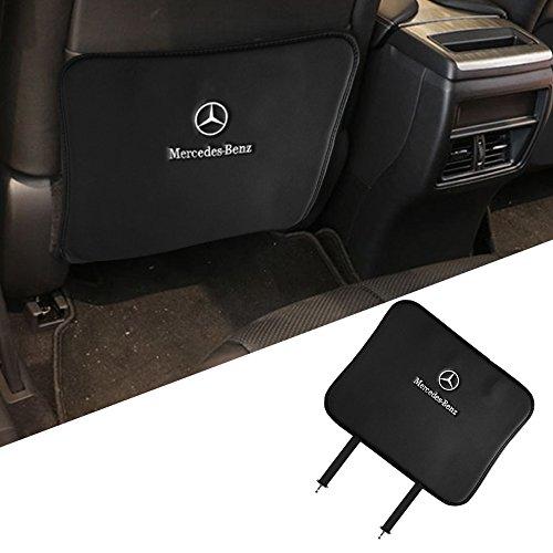 OPAYIXUNGS Mercedes-Benz Auto-Rückenlehnenschutz(1 Stück), Autositz Schutz, schmutzabweisend, schwarz