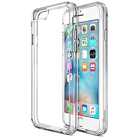 Coque iPhone 6 / 6S, iVoler [ ULTRA TRANSPARENTE SILICONE EN GEL TPU SOUPLE ] Housse Etui Coque de Protection avec Absorption de Choc et Anti-Scratch pour iPhone 6 / 6S 4.7''