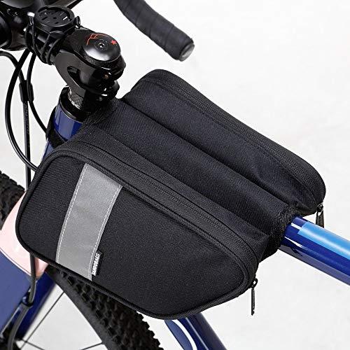 Fahrrad Vorderrohrtasche auf dem Rahmen Mountainbike Oberrohrtasche Fahrradtasche Tasche for Fahrradzubehör