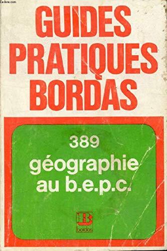 Géographie classe de 3e BEPC