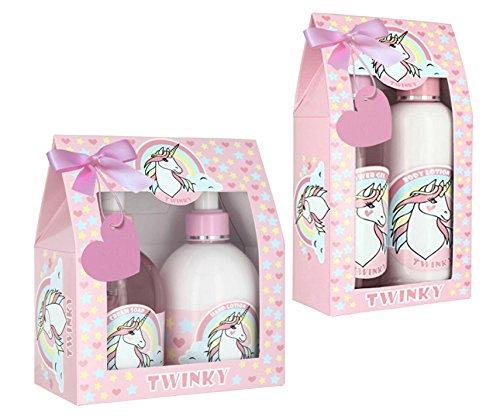 EINHORN Seife & Handlotion + Duschgel & Bodylotion mit dem angenehmen Duft frischer Rosen - 2 Geschenksets zum Vorzugspreis - 4 x 250ml (2,49 EUR/100ml)