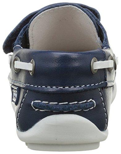 Garvalin Cancale, Chaussures Bateau Garçon Bleu (Marino)