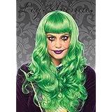 Mujeres la peluca de Misfit verde estilo Joker