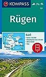 Rügen: 4in1 Wanderkarte 1:50000 mit Aktiv Guide und Detailkarten inklusive Karte zur offline Verwendung in der KOMPASS-App. Fahrradfahren. Reiten. (KOMPASS-Wanderkarten, Band 737) -
