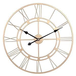 Wohnzimmer Uhren Gold   Dein-Wohntrend.de