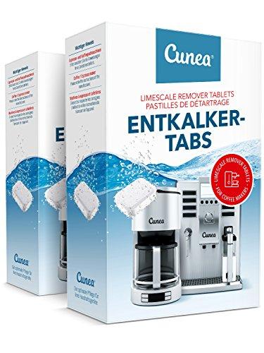 Entkalker Tabletten 90x Entkalkungstabletten für Kaffeevollautomat Entkalkertabs - vielseitig...