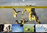 Fallschirmjäger 2019. Impressionen von Mensch und Material (Wandkalender 2019 DIN A3 quer): 12 spannende Einblicke in die Arbeit der Luftlandetruppen (Monatskalender, 14 Seiten ) (CALVENDO Mobilitaet)