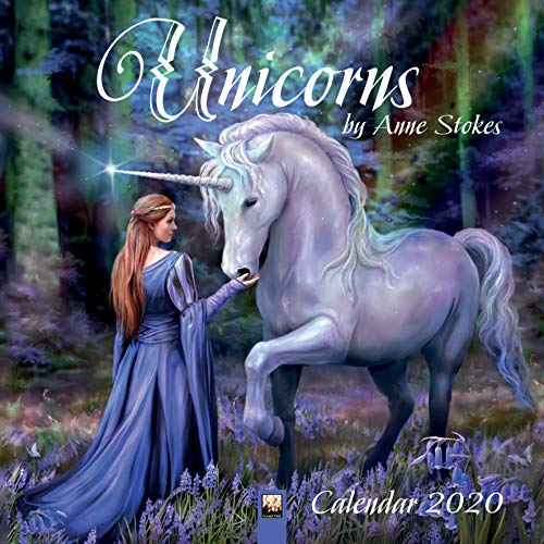 Unicorns by Anne Stokes - Einhörner von Anne Stokes 2020: Original Flame Tree Publishing-Kalender [Kalender] (Wall-Kalender) -
