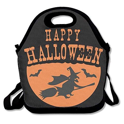 zard Halloween Lunch Bag Tote Handbag Lunchbox for School Work Outdoor ()
