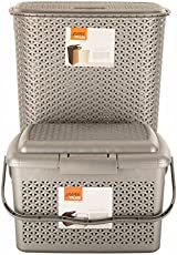 Jaypee plus Laundary Basket & Carry All XL, beige (pack of 2)