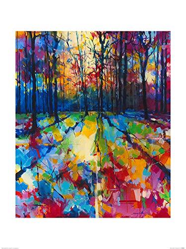 El Arte Grupo Doug–Eaton Mile End Woods–Lámina