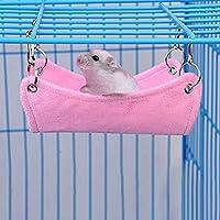 LanLan Cama Colgante de Hamster, Hammock Warm Bed Cojín para Mascotas