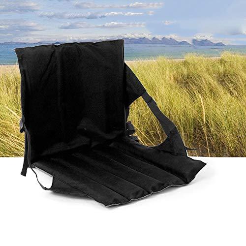 Preisvergleich Produktbild Arvin87Lyly Im Freien Verstellbarer Rückenlehne Sitz Kissen Ultraleicht tragbarer Multifunktional Klappstuhl Camping Rückenlehne Sitz Kissen