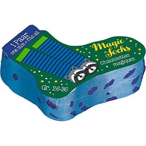 Spiegelburg 14347 Magic Socks (2 Designs), sort. Weihnachtsexpress - 1 Paar