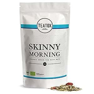 TEATOX Skinny Morning, Bio Grüntee mit Mate, Refill Beutel