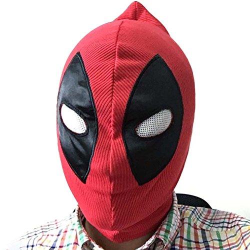 Kent Marks Gesichtsmaske für Halloween, Cosplay, für Erwachsene und Kinder, gestrickt