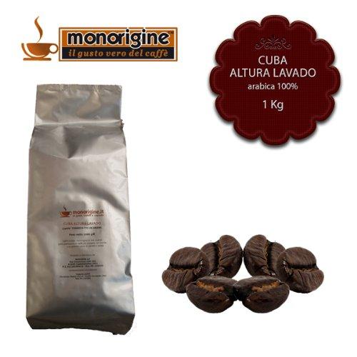 Arabica Coffee beans Cuba Altura Lavato - 1 Kg