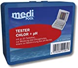 Medipool Schwimmbadpflege Chlor/PH Tester