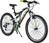 KRON ARES 4.0 Fully Mountainbike 26 Zoll | 21 Gang Shimano Kettenschaltung mit...