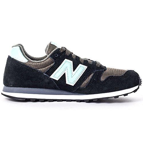 New Balance NBWL373SGL Sneaker, Donna Nero