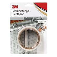 3M DICHT38 4412N Extreme Sealing Tape, 38 mm x 1.5 m, Transluscent