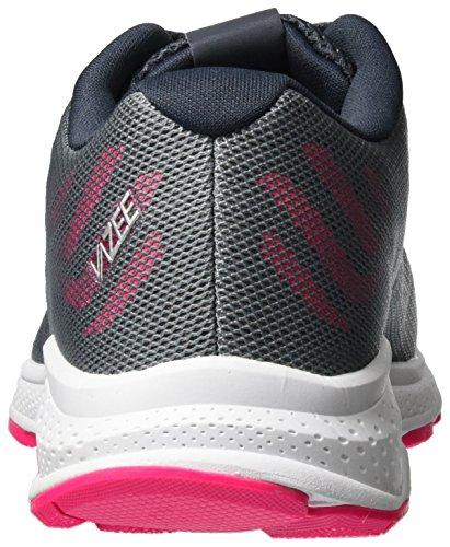 New Balance Unisex-Kinder Kjrusgug M Vazee Rush V2 Sneakers Mehrfarbig (Grey/Pink)