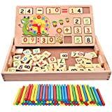 Wooden Toys For Children (Multi Functional Digital Computing Learning Box)