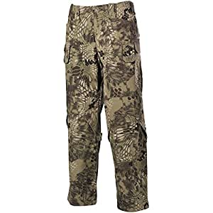 MFH Uomo Mission Combat Pantaloni Ripstop Snake FG taglia S