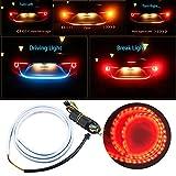 Nslumo - Striscia di luci a LED dinamica per luci posteriori, indicatori di direzione, luci dei freni e spie luminose per arricchire lo stile del bagagliaio dell'auto