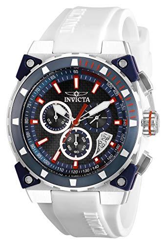 Invicta Herren Chronograph Quarz Uhr mit Silikon Armband 27341 - Silikon Invicta Bands Watch