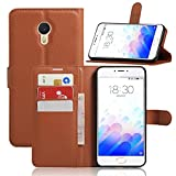 KATUMO® Meizu Blue Charm Note3 Cover Case, PU Leder Handy
