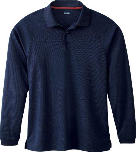 Extreme Herren Performance Long Sleeve Polo Shirt. 85099 CLASSIC NAVY 849