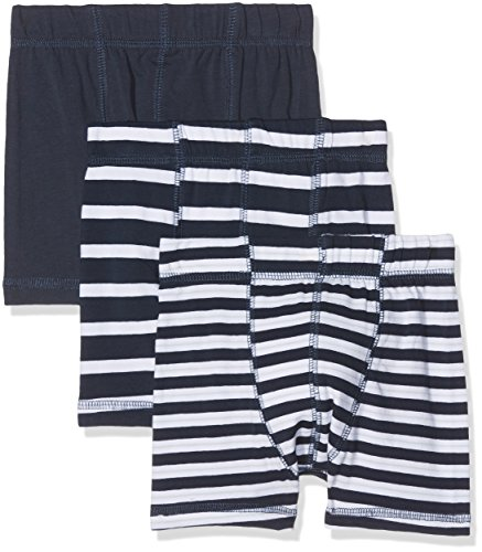 NAME IT Baby-Jungen Boxershorts Nmmtights 3P Dress Blues Noos 3er Pack, Mehrfarbig (Dress Blues), 104