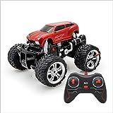 Kikioo Bigfoot 2.4GHZ Véhicule tout-terrain télécommandé - Voiture télécommandée 4 roues motrices Débutant SUV Jeep RCCAR Rotation à 360 ° Stunt Drift Speed   Buggy Tout terrain Monster Truck 3 ans, c