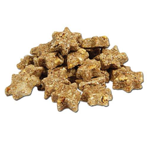 DOGREFORM Micro Sterne getreidefrei mit 50 % Putenleber Es werden keine Zusatzstoffe, Farbstoffe oder sonstige Zusätze verwendet der Hundekeks für senitive Hunde