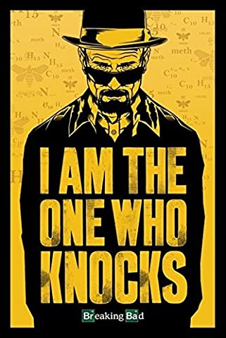 Cadre 60x90 - Breaking Bad : I Am The One