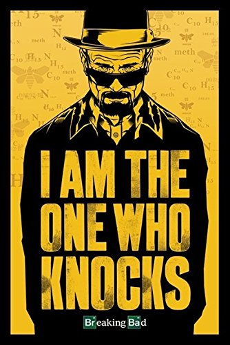 Foto de Grupo Erik Editores Poster Breaking Bad- I Am The One Who Knocks